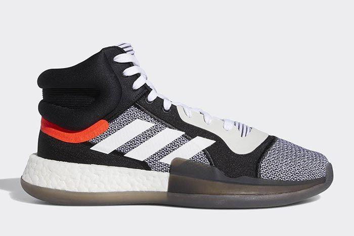 Adidas Marquee Boost Black White 1