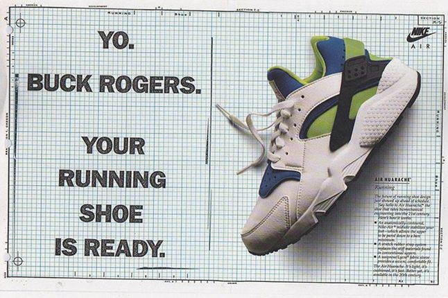 Nike Air Huarache Vintage Advert 1