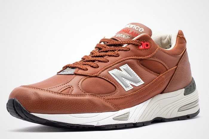 New Balance 991 Elite Gent M991Gnb Brown Front Angle