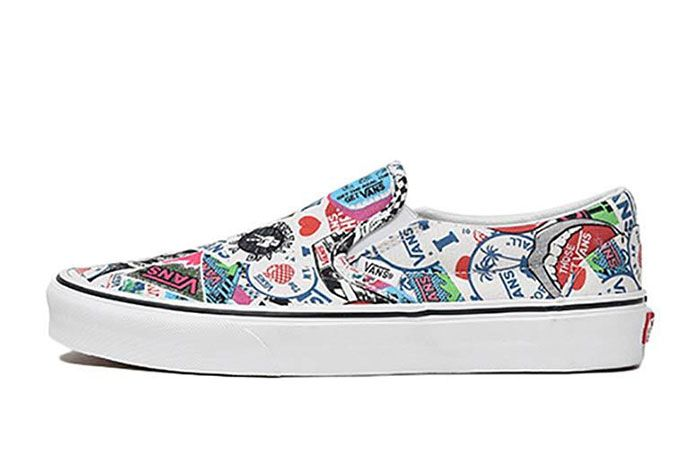 Vans Slip On All Over History Logos 3