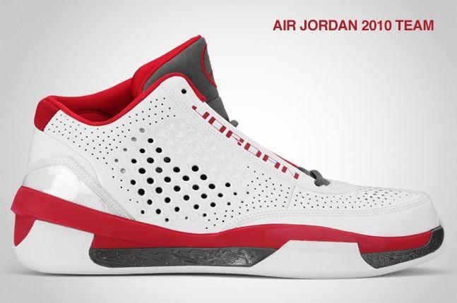 Air Jordan 2010 Team Red 2