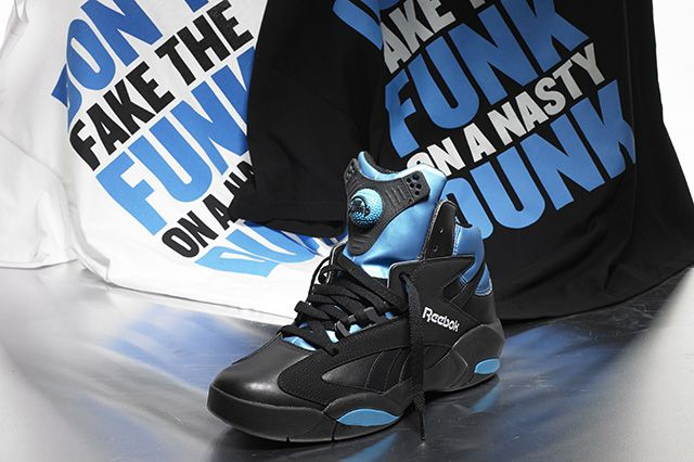 Reebok Shaq Attaq Black Azure Blue 1