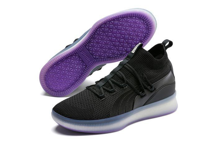 Puma Clyde Court Disrupt Purple Glow 1