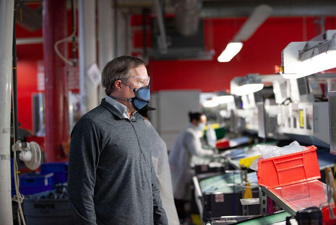 New Balanace Face Mask 2020 Inspection
