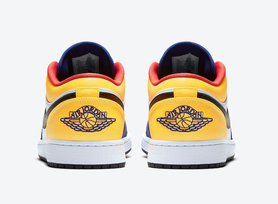 Air Jordan 1 Low Heel