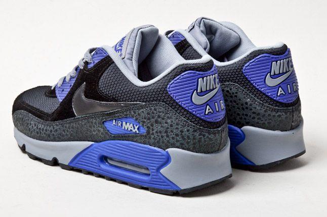 Nike Air Max 90 Purple Safari Heels 1