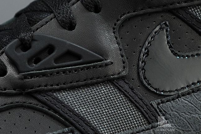Nike Air Trainer Sc High Black Grey Midfoot Detail 1