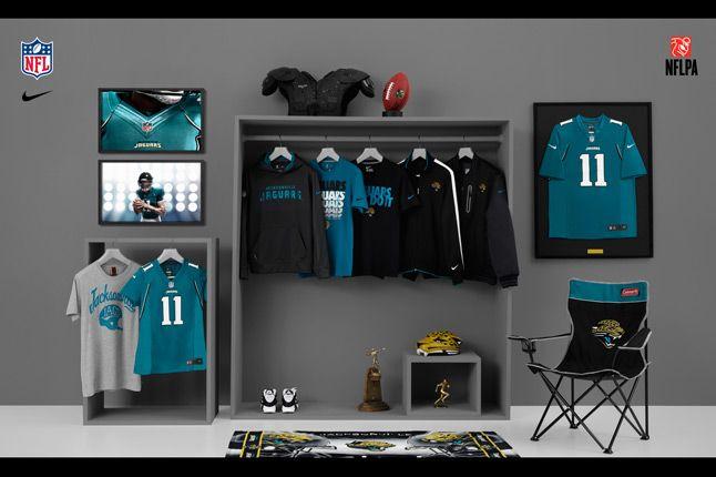 Nike Nfl Fanwear Jax Jaguars 2012 1