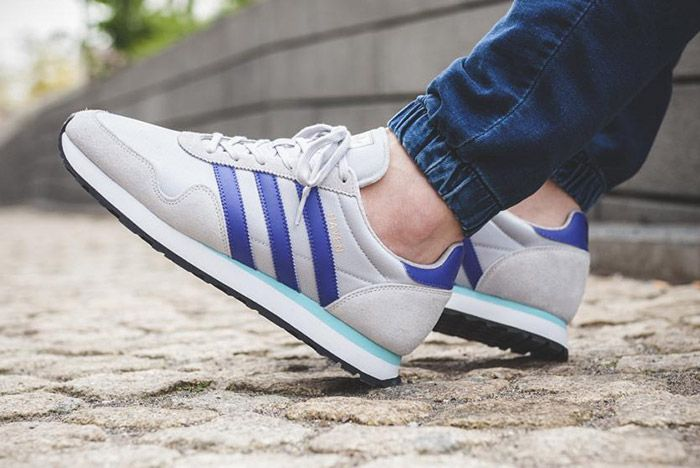 Adidas Haven Grey Purple 2