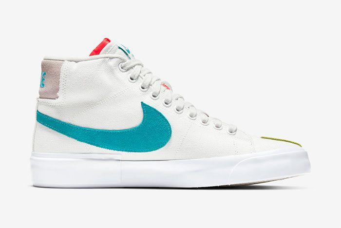 Nike Sb Blazer Mid Edge Right