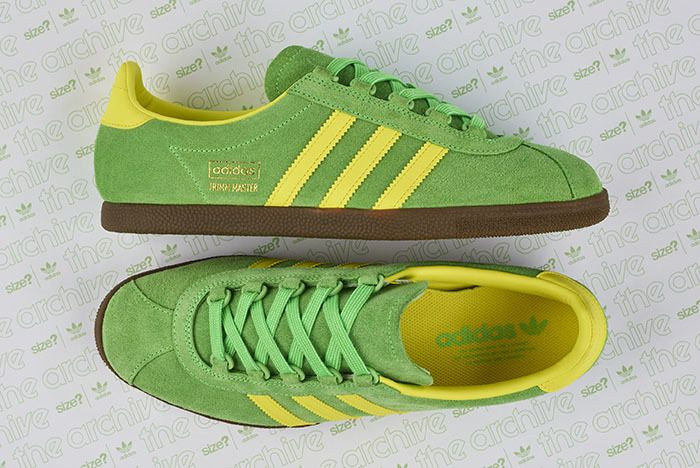 Size Adidas Trimm Master Lime Yellow 3