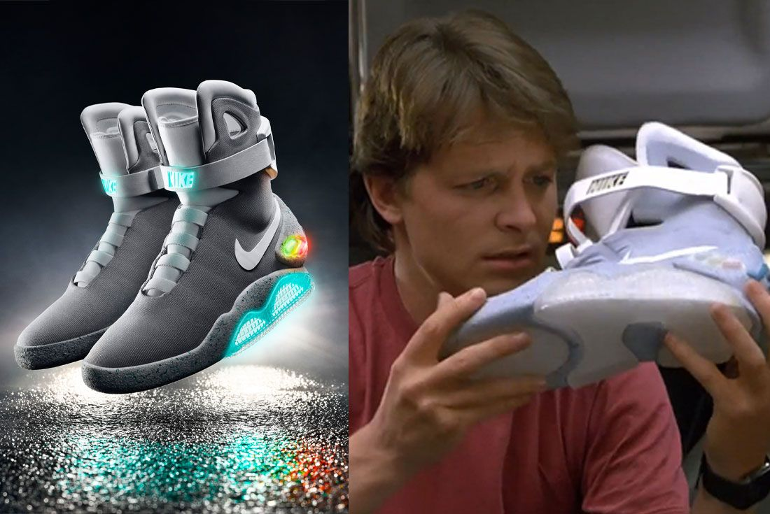 NIKE MAG SELLS FOR OVER $100,000 IN HONG KONG AUCTION | 8 ... |Nike Mag Outfit