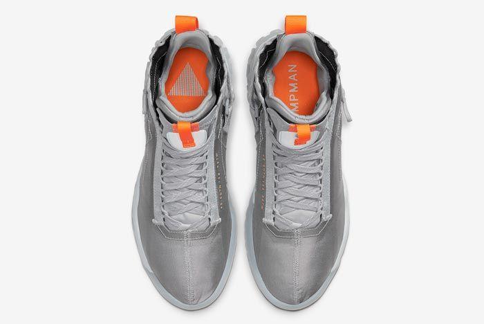 Jordan Proto React Pure Platinum Total Orange Top