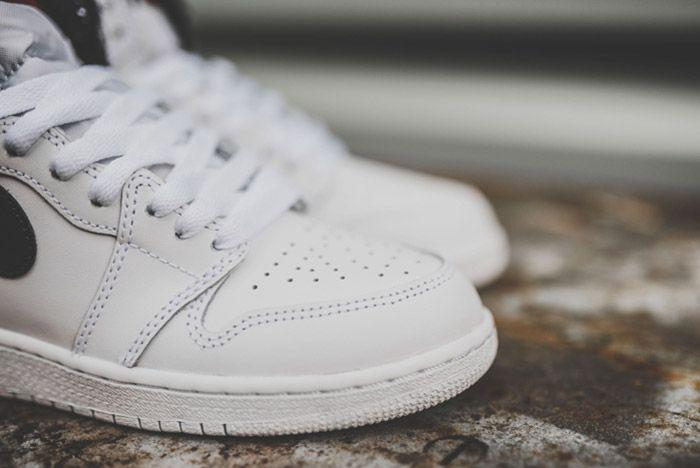 Nike Air Jordan 1 Retro High Og Bg White 4