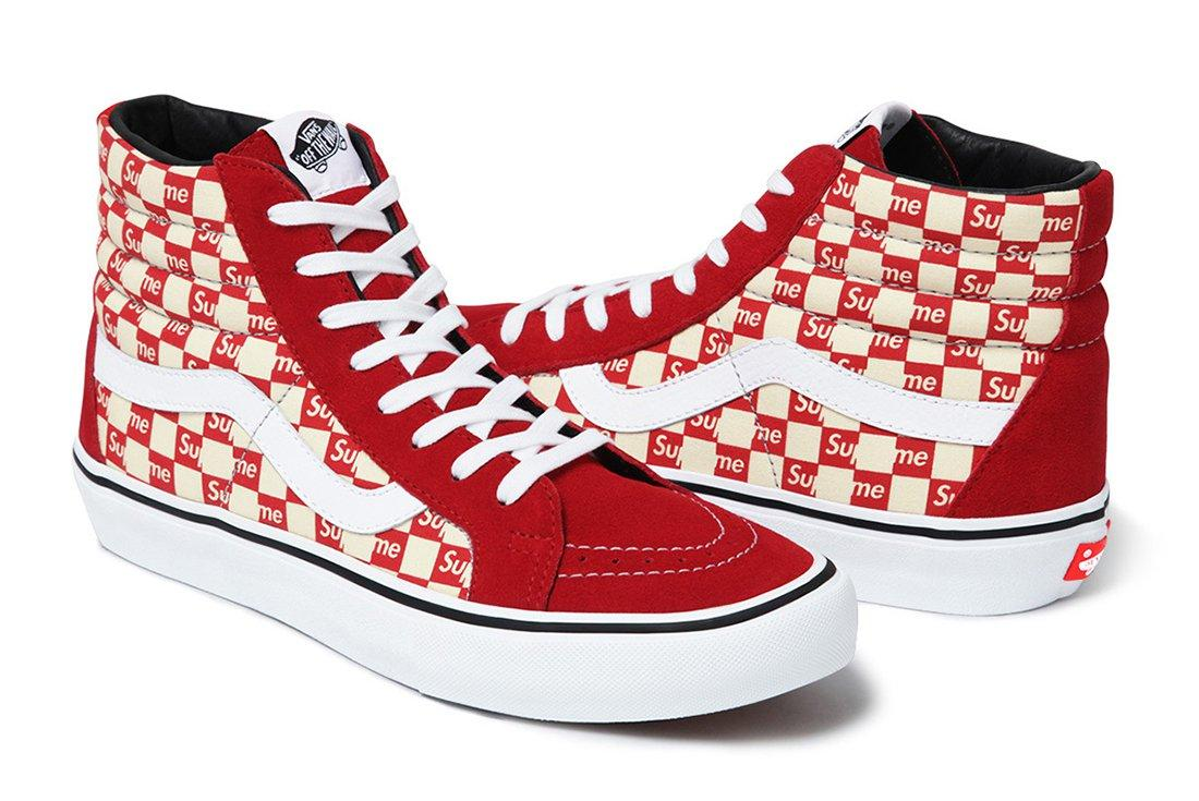 Supreme X Vans Checker Logo Pack 1