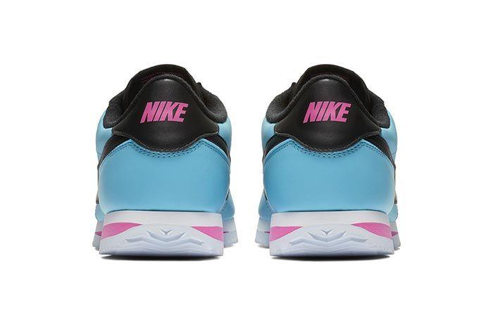 Nike Cortez Blue Gale Laser Fuchsia 3
