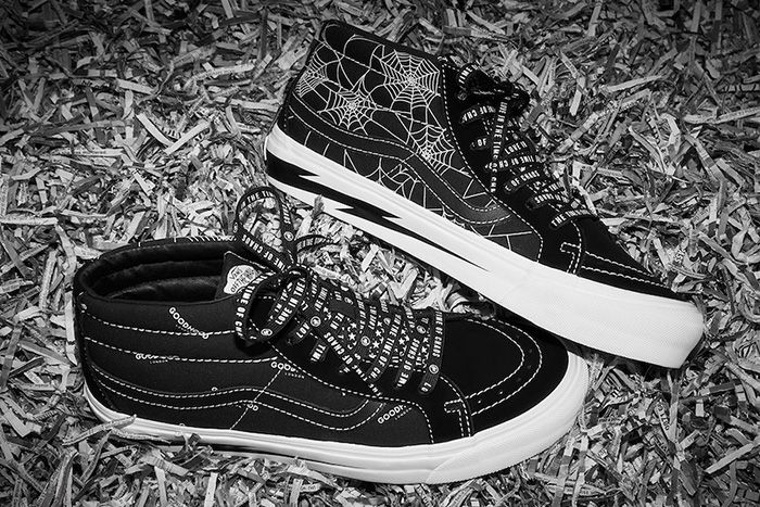 Goodhood Vans Sk8 Mid Love In The Time Of Chaos Release Date Pair