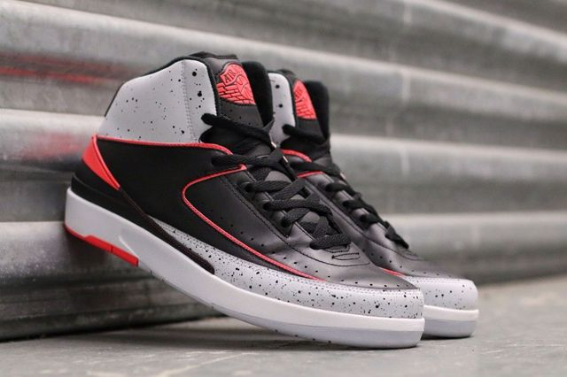 Air Jordan 2 Infrared Cement 6