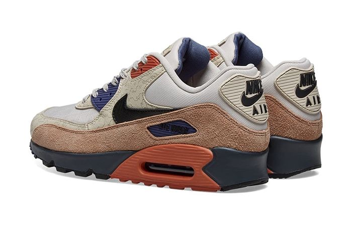Nike Air Max 90 Desert Sand Ci5646 001 Release Date Heel