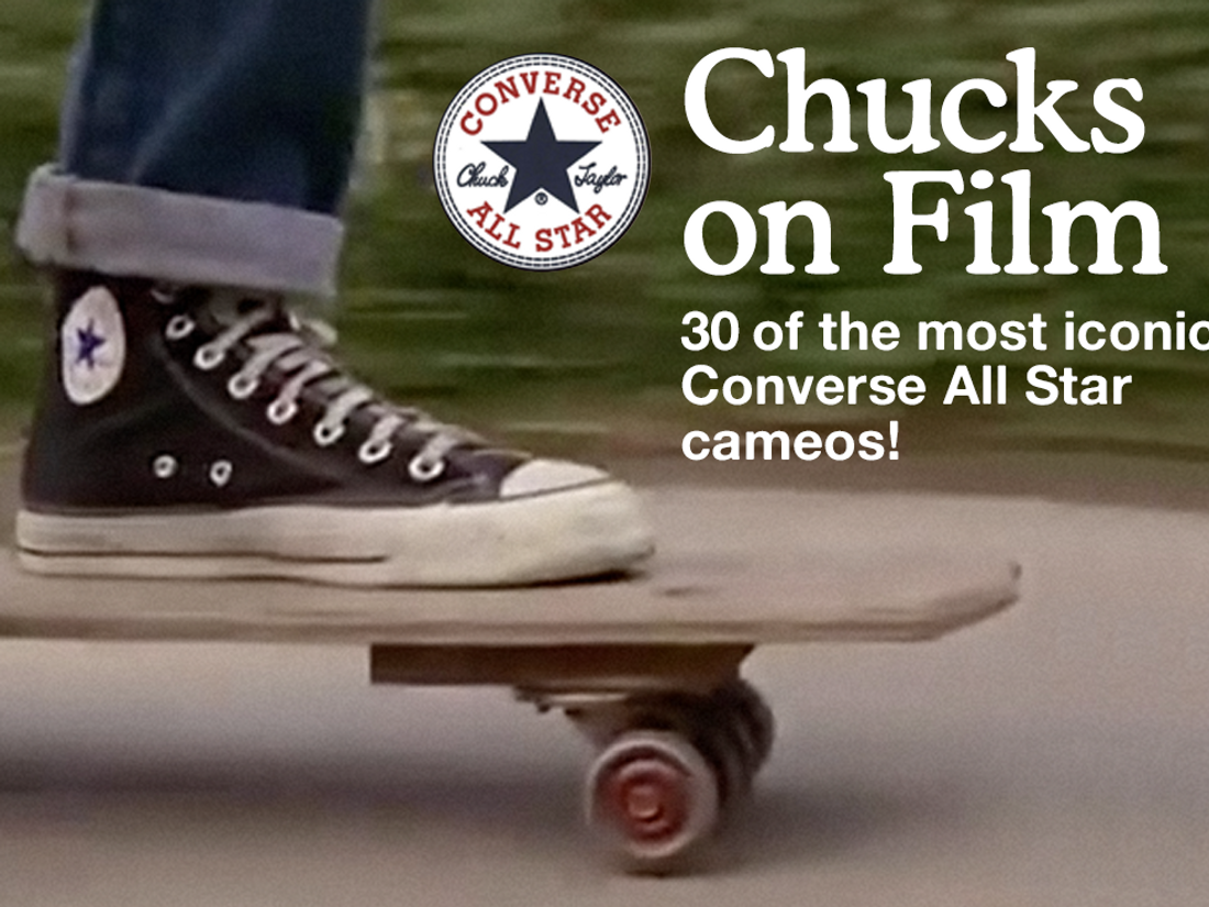 Moda País predicción  Chucks On Film: 30 Iconic All Star Screen Cameos - Sneaker Freaker