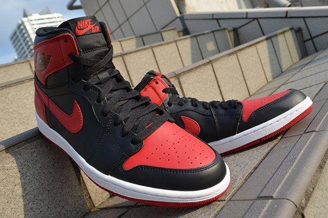 Air Jordan 1 High Og Bred 3