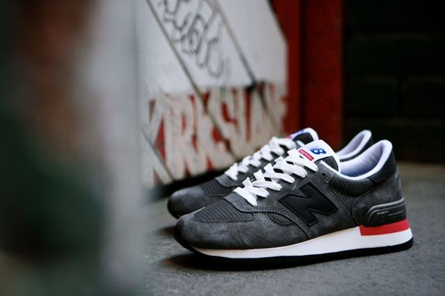 New Balance 990 Made In Usa Charcoal Grey 7