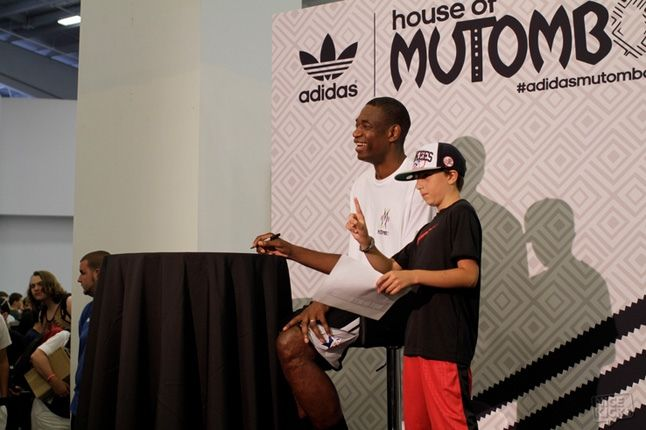 Adidas House Of Mutombo Signing Sneakercon 8