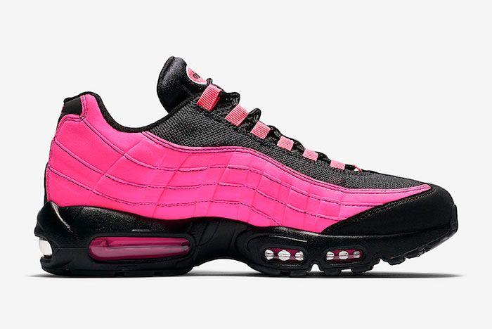 Nike Air Max 95 Black Pink Cu1930 066 Medial