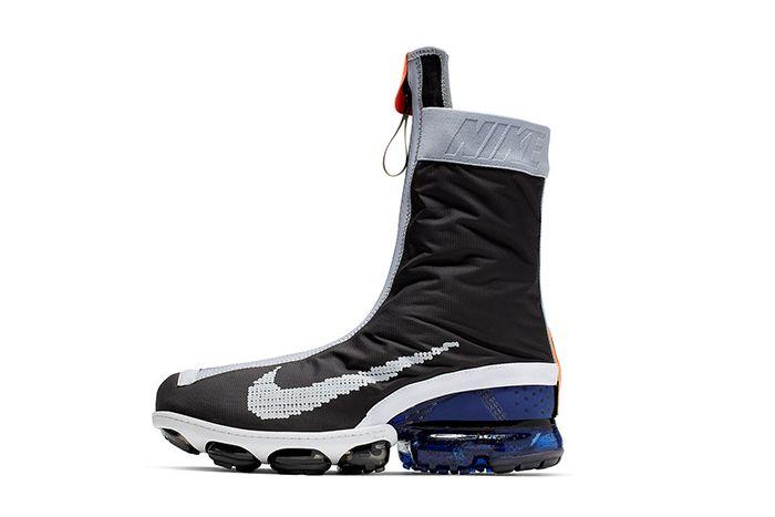 Nike Vapormax Gator Ispa Black White Ar8557 002 Release Date Lateral