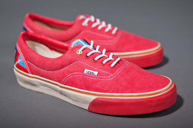 Clot X Vans 2012 Holiday Collection Era Red 1
