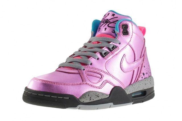 Nike Wmns Flight Mid 13 Pink Glow 1