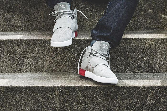 Adidas Tubular Invader Strap Foot Shot On Feet 3