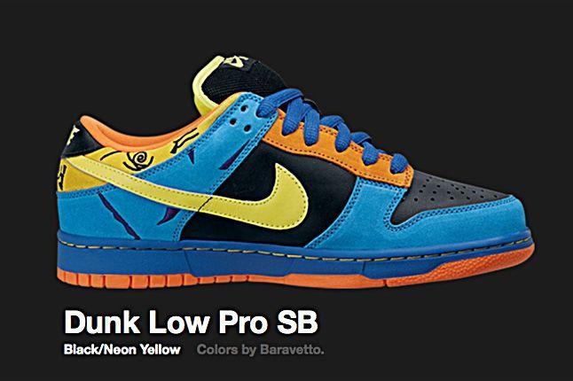 Nike Neon Yellow Dunk Low Pro Sb 2008 1