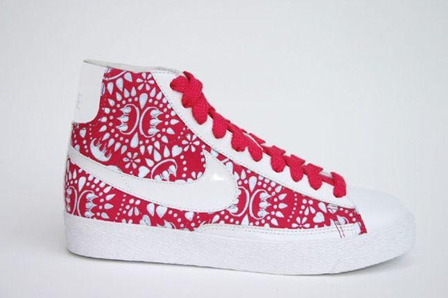 Claw Money Nike Blazer Red 1