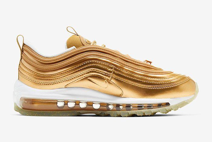Nike Air Max 97 Gold Medal Right