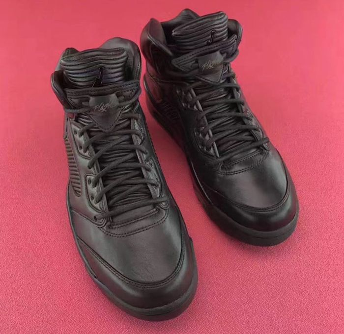 Air Jordan 5 Premium Triple Black9
