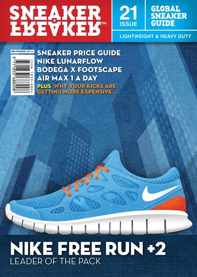 Sneaker Freaker Issue 21 Nike Free 1