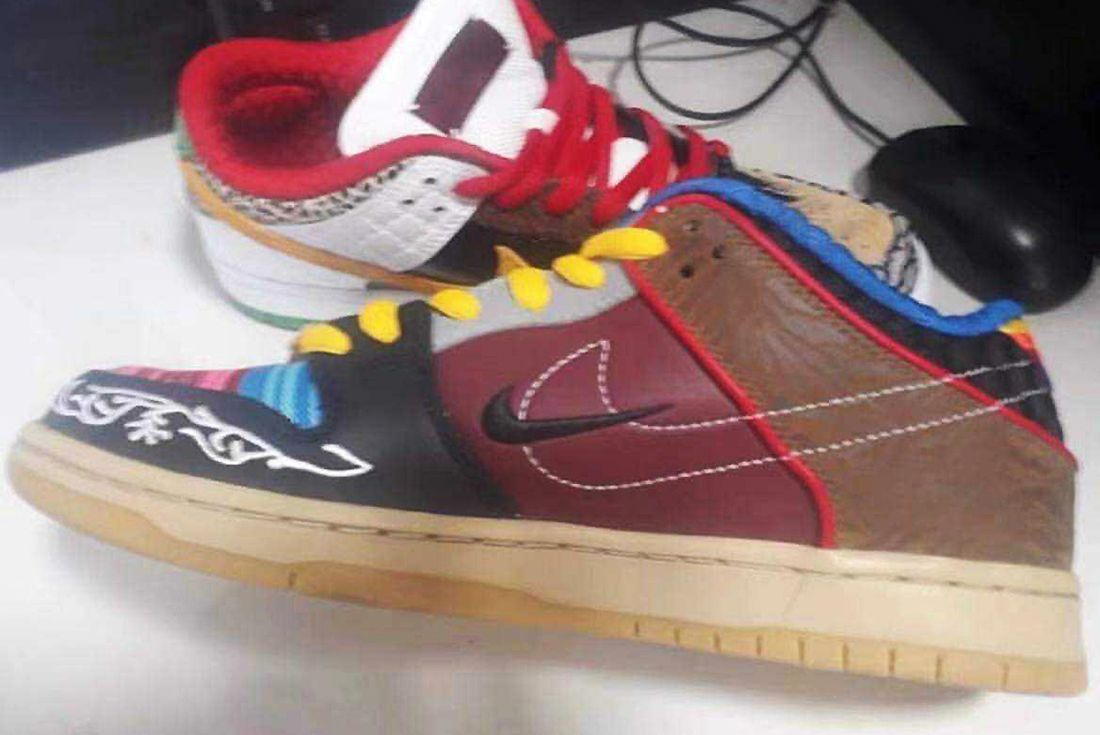 nike sb dunk low what the p rod leaked shot