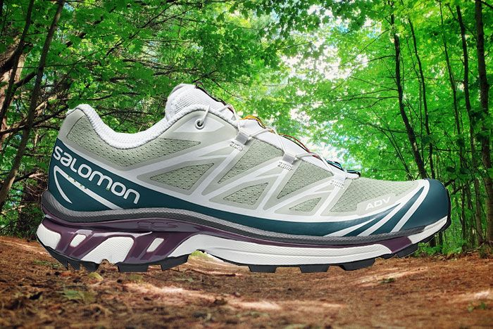 Salomon Xt 6 Adv Ltd Mineral Gray Lateral