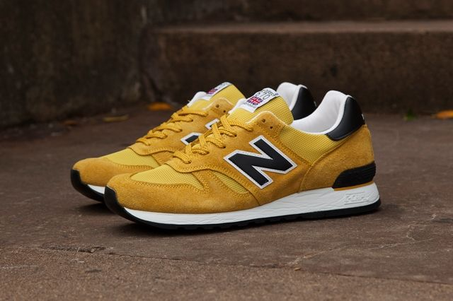 New Balance 670 Black Yellow Pack 3