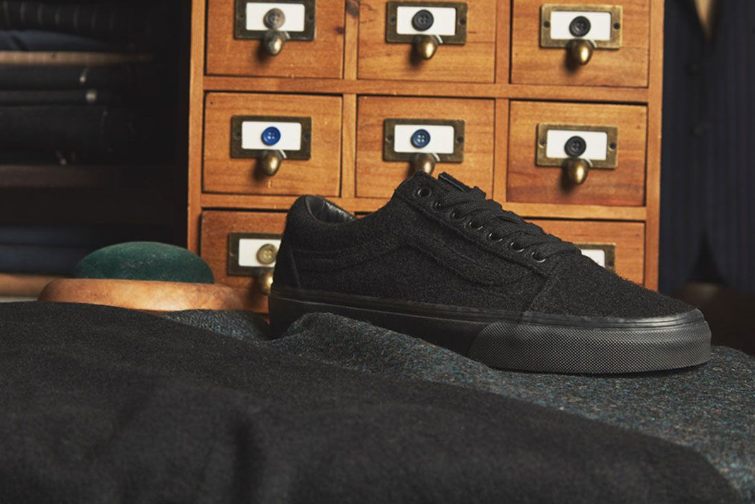 Size X Vans Old Skool Wool Pack 5