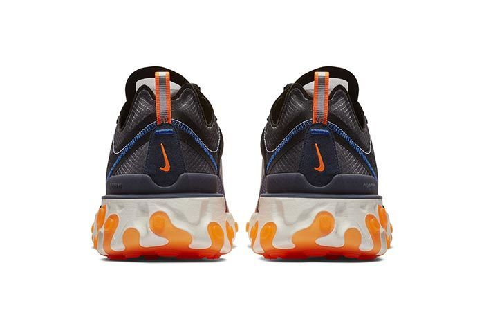 Nike React Element 87 Orange 4
