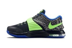 Nike Kd 7 Black Green Blue 3
