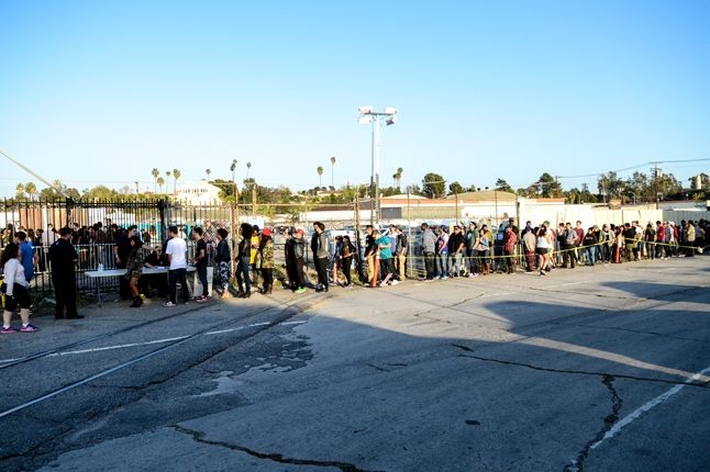 Adidas Originals Los Angeles Pop Up Concert Line 1