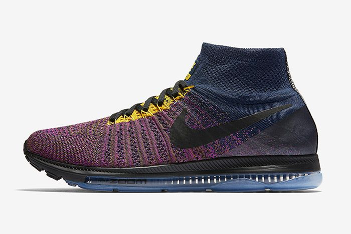 Nike Zoom All Out Flyknit Navy Purple 4