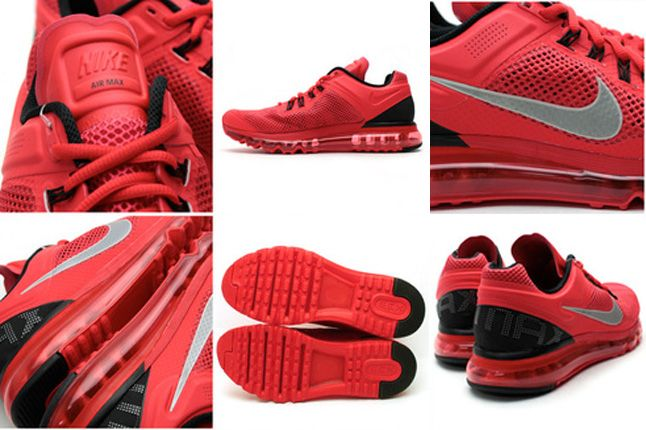 Nike Air Max 2013 Red Details 1