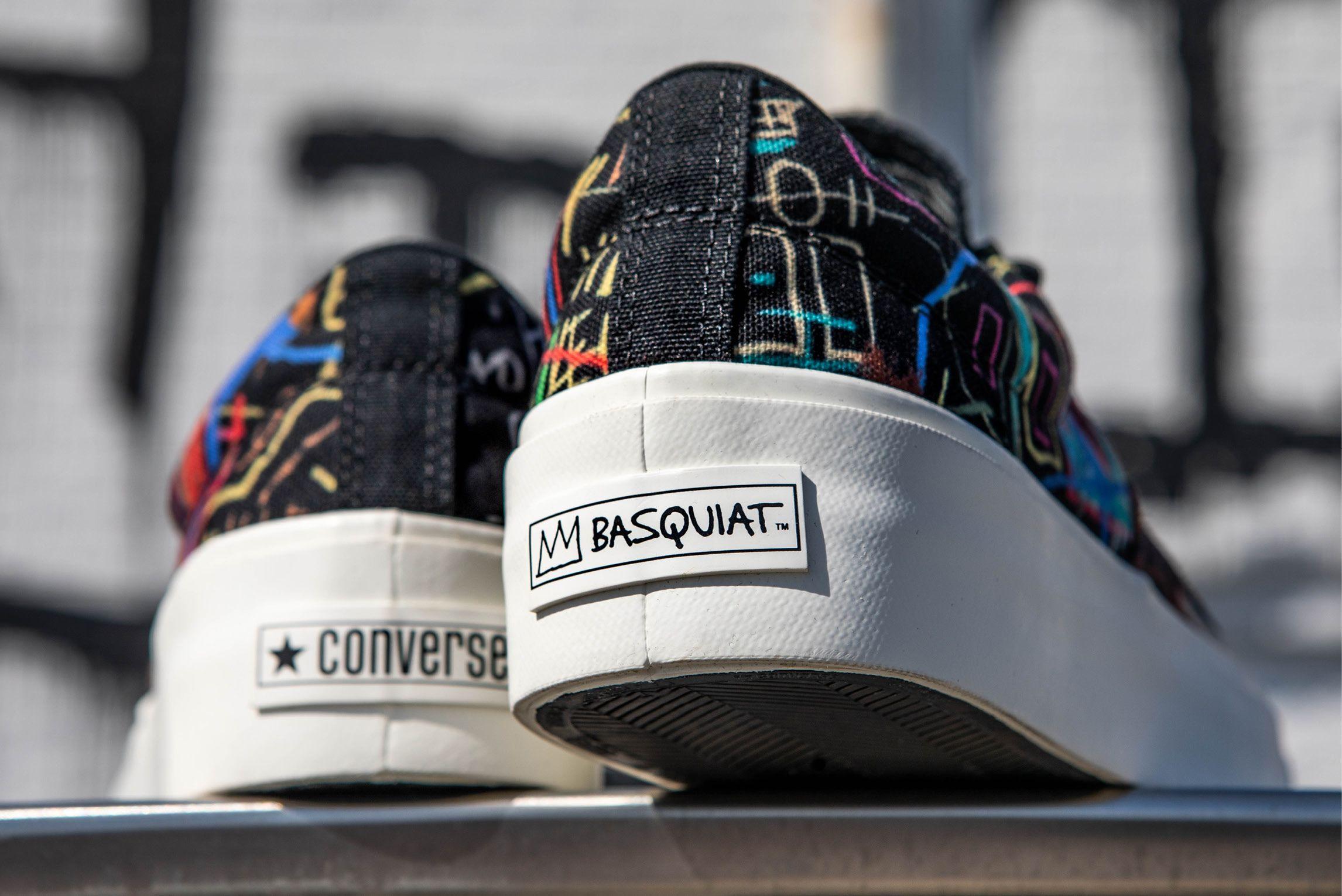Jean-Michel Basquiat x Converse Skidgrip