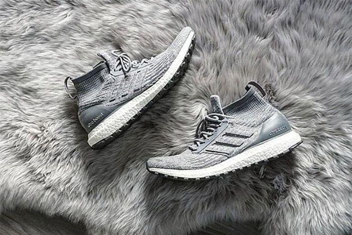 Adidas Ultra Boost Mid Grey 1
