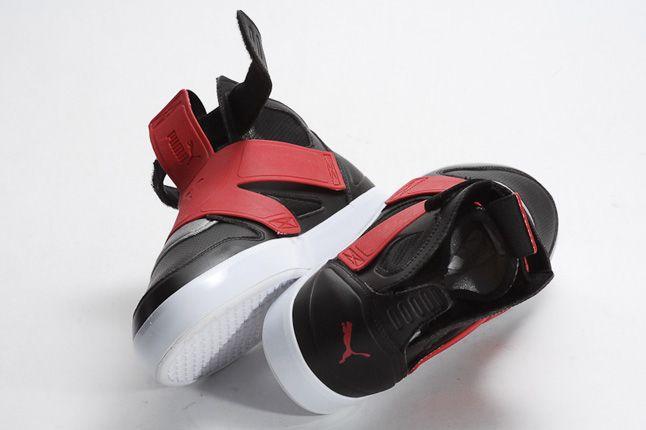 Puma Ely Future Black Red Pair 1