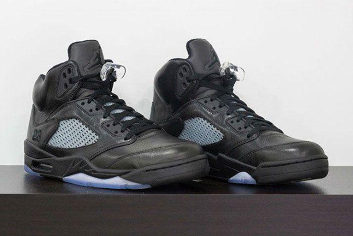 Air Jordan 5 Kobe Pe All Black